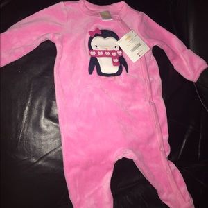 One piece warm onesie/sleeper